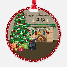 2015 Scottie 1St Christmas Ornament