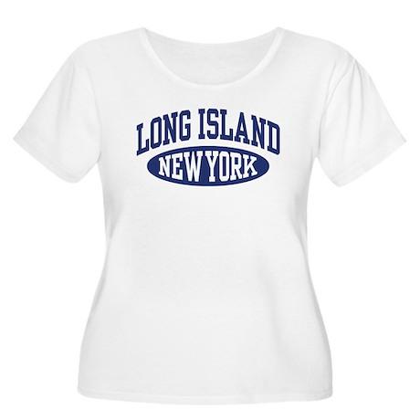 Long Island Women's Plus Size Scoop Neck T-Shirt