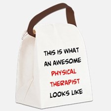 Unique Therapist Canvas Lunch Bag
