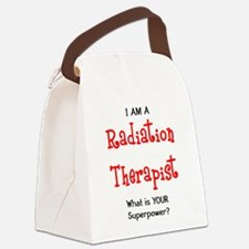 Cute Radiation Canvas Lunch Bag