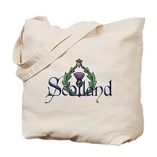 Scotland Thissle Tote Bag