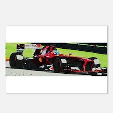 Ferrari F1 Postcards (Package of 8)