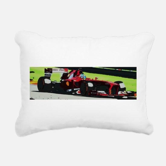 Ferrari F1 Rectangular Canvas Pillow