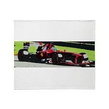 Ferrari F1 Throw Blanket
