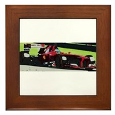 Ferrari F1 Framed Tile