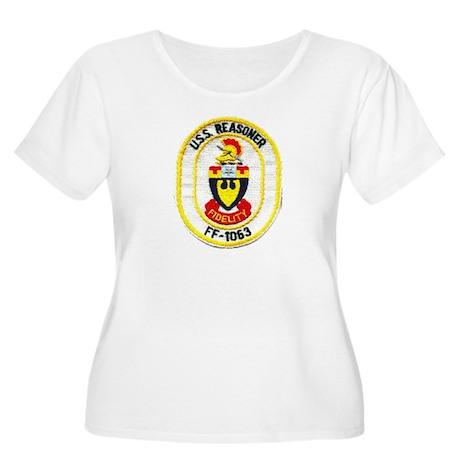 USS REASONER Women's Plus Size Scoop Neck T-Shirt