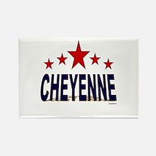 Cheyenne Rectangle Magnet