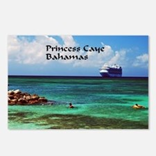 Princess Cay  Postcards (Package of 8)