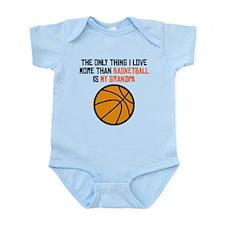 Basketball Grandpa Body Suit
