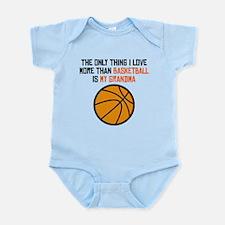Basketball Grandma Body Suit