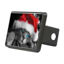 Christmas kitty Hitch Cover