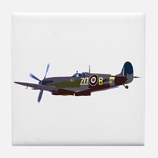 Supermarine Spitfire Tile Coaster