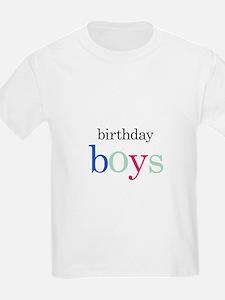 Twins, Triplets Birthday Boy - T-Shirt
