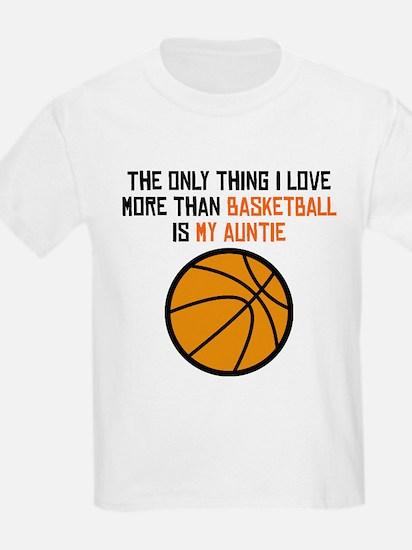 Basketball Auntie T-Shirt