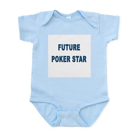 """""""Future Poker Star"""" Infant Bodysuit"""