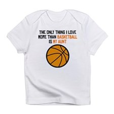 Basketball Aunt Infant T-Shirt