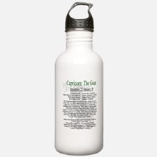 Capricorn traits Water Bottle