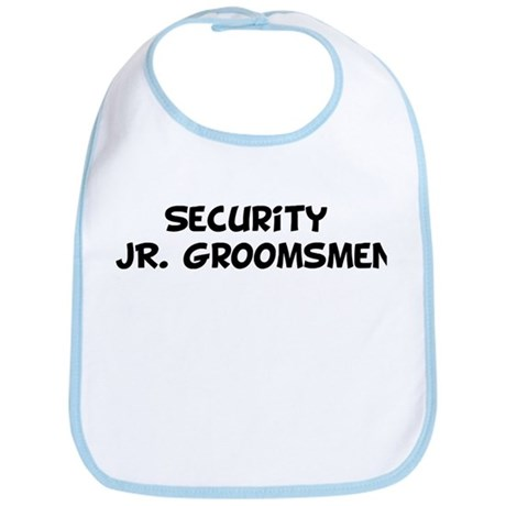 Security JR. Groomsmen Bib