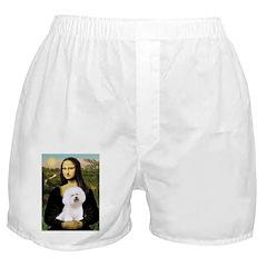 Mona's Bichon Boxer Shorts