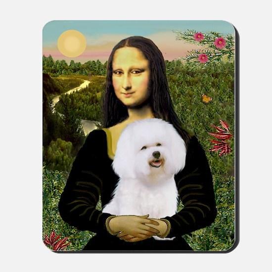 Mona's Bichon Mousepad