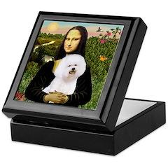 Mona's Bichon Keepsake Box