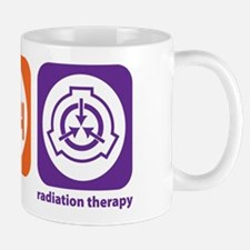 Eat Sleep Radiation Therapy Mug