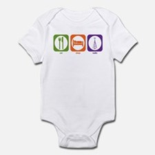Eat Sleep Radio Infant Bodysuit