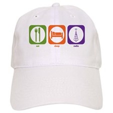 Eat Sleep Radio Baseball Cap