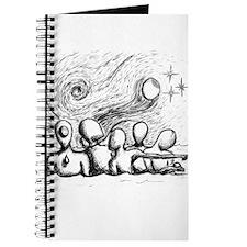 5 Lost Wandering Men Illustration Journal