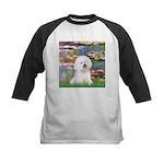 Llies & Bichon Kids Baseball Jersey