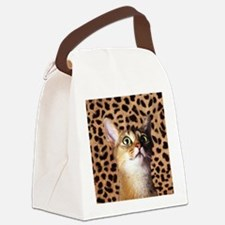 Aby Cat Canvas Lunch Bag