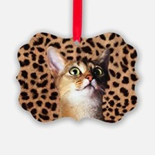 Aby Cat Ornament