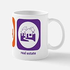 Eat Sleep Real Estate Mug