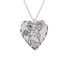 What Does the Malamute Say! Necklace
