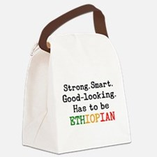 be ethiopian Canvas Lunch Bag