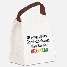 be ghanaian Canvas Lunch Bag