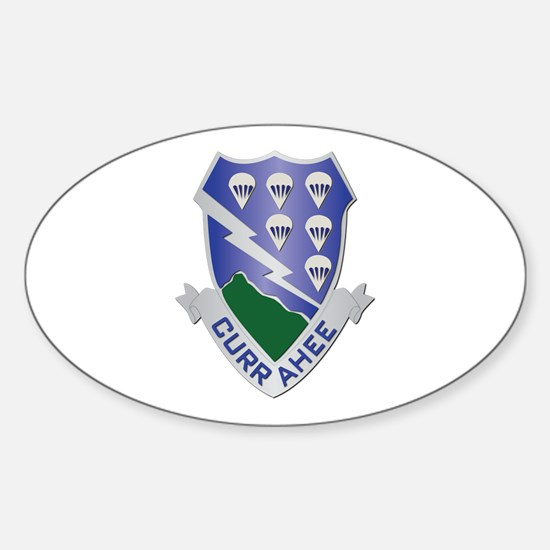 DUI - 2nd Bn - 506th Infantry Regiment Decal