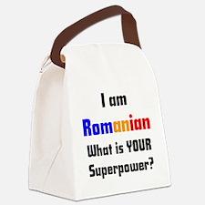 i am romanian Canvas Lunch Bag