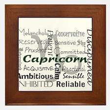 Capricorn Framed Tile