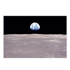 Apollo 11 Lunar Earthrise Postcards (Pkg of 8)