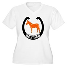 Mule Sense and Other Equines Plus Size T-Shirt