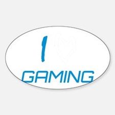 i heart gaming Decal