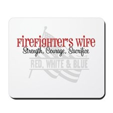 Strength,Courage,Sacrifice Mousepad