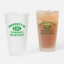 Property Of Economics Department Drinking Glass