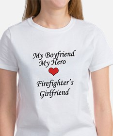 Firefighter's Girlfriend Women's T-Shirt