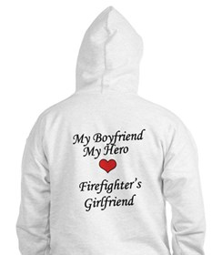 Firefighter's Girlfriend Hoodie
