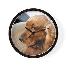 Cocker Spaniel dog Wall Clock