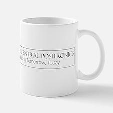 North Central Positronics black Mugs
