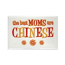 Chinese Moms Rectangle Magnet