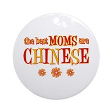 Chinese Moms Ornament (Round)